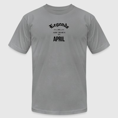 Legend April - Men's T-Shirt by American Apparel