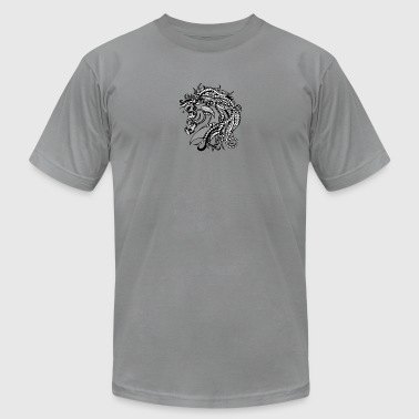 Zentangle Horse - Men's T-Shirt by American Apparel