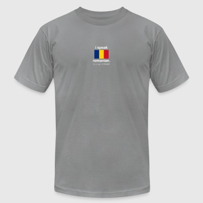 SUPERPOWER romanian - Men's T-Shirt by American Apparel