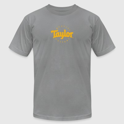 Taylor Guitars Logo - Men's T-Shirt by American Apparel