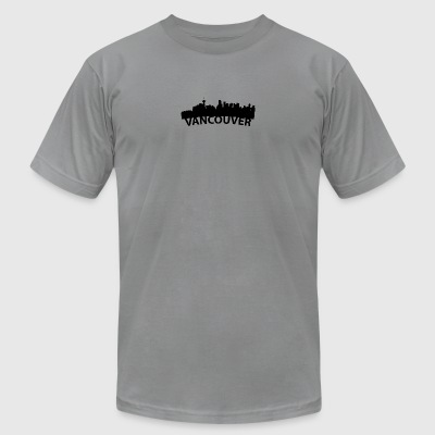 Arc Skyline Of Vancouver British Columbia Canada - Men's T-Shirt by American Apparel