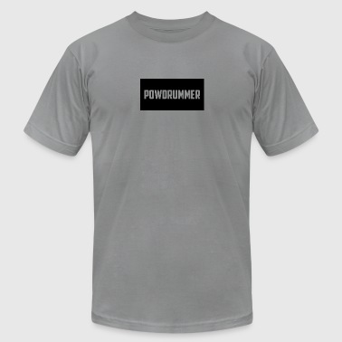 POWdrummer's Shirt - Men's T-Shirt by American Apparel