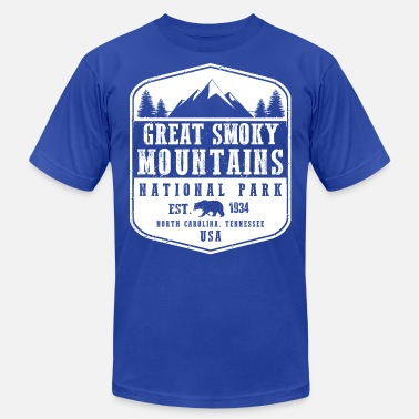 Smoky Mountains Great Smoky Mountains - Unisex Jersey T-Shirt