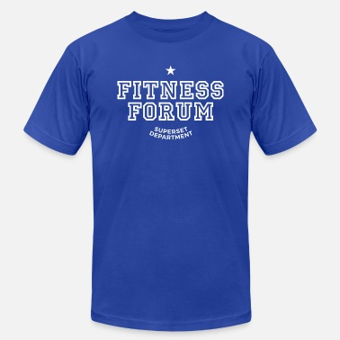 Forum fitness forum - Men's Jersey T-Shirt