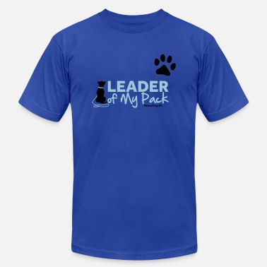 Pack Leader RescueDogs101 Leader of My Pack - Men's  Jersey T-Shirt