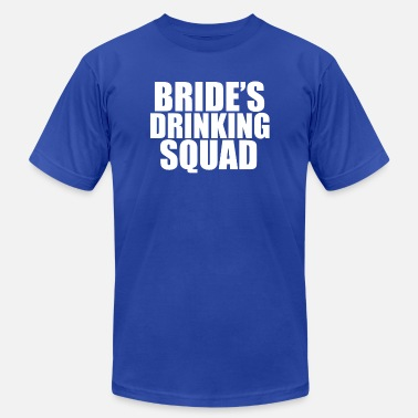 Hens Night Bride Drinking Squad Bachelorette Party Hens Night - Unisex Jersey T-Shirt