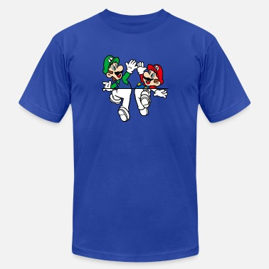 Luigi Mario and Luigi - Men's Fine Jersey T-Shirt