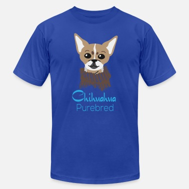 Purebred Dog chihuahua purebred gift idea present dog dogs - Men's Jersey T-Shirt