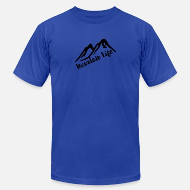 Mountain Life - Unisex Jersey T-Shirt