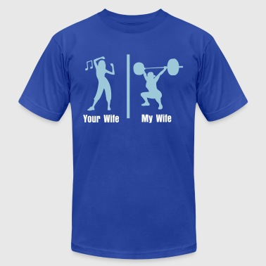 your and mine fitness - Men's Fine Jersey T-Shirt
