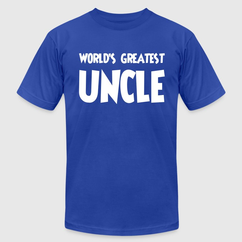 World's greatest uncle - Men's Fine Jersey T-Shirt