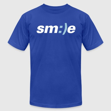 smile - Men's Fine Jersey T-Shirt