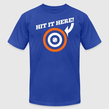 Hit it Here! (Chicago, Texas) - Men's Fine Jersey T-Shirt