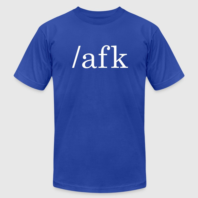 AFK - Away From Keyboard - Men's Fine Jersey T-Shirt
