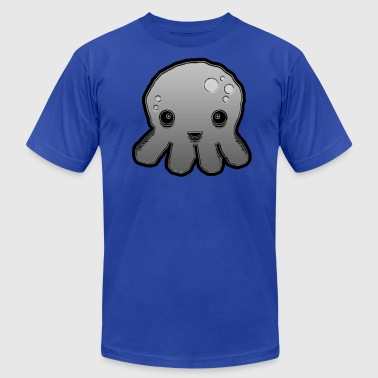 Gray Sea Creature - Men's Fine Jersey T-Shirt