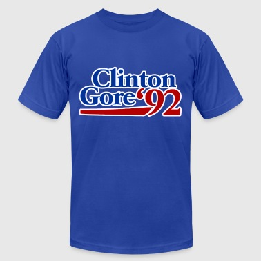 Clinton gore 1992 - Men's Fine Jersey T-Shirt