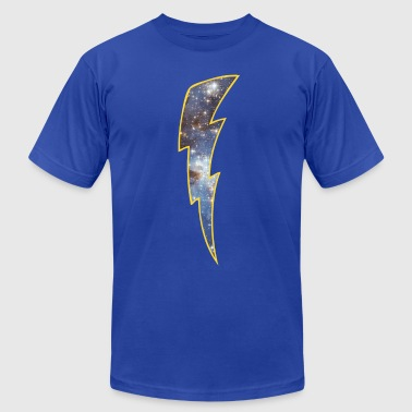 Retro Space lightning - Men's Fine Jersey T-Shirt