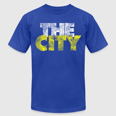 The City Vintage - Men's Fine Jersey T-Shirt