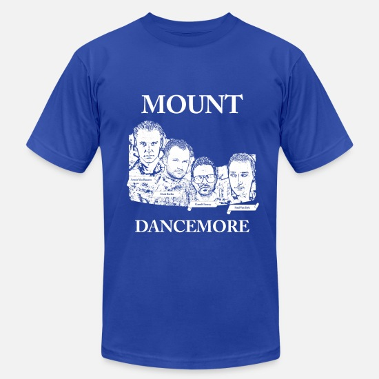 Dance T-Shirts - Paul Van Dyk, Armin Van Buuren, Gareth Emery, Dash - Men's Jersey T-Shirt royal blue