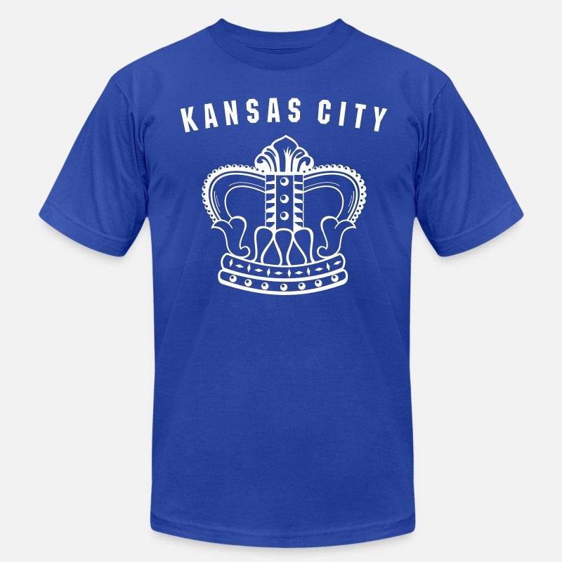 promo code 00aa9 0a119 Kansas City Royals Vintage t-shirt Men's Jersey T-Shirt - royal blue