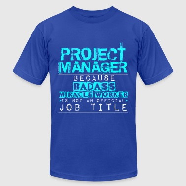 Badass Project Manager - Men's Fine Jersey T-Shirt