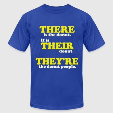 There, Their, They're - Men's Fine Jersey T-Shirt