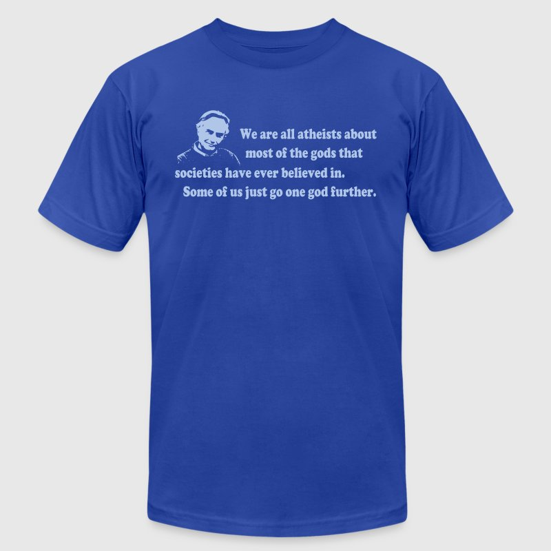 Richard Dawkins - We Are All Atheists - Men's Fine Jersey T-Shirt