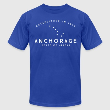Anchorage - Men's Fine Jersey T-Shirt