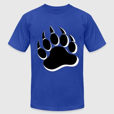 Cool Gay Bears Pride Bear Paw - Men's Fine Jersey T-Shirt