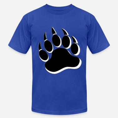Gay Paw Cool Gay Bears Pride Bear Paw - Men's Fine Jersey T-Shirt