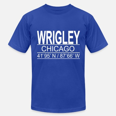 Cubs Wrigley Chicago - Men's  Jersey T-Shirt