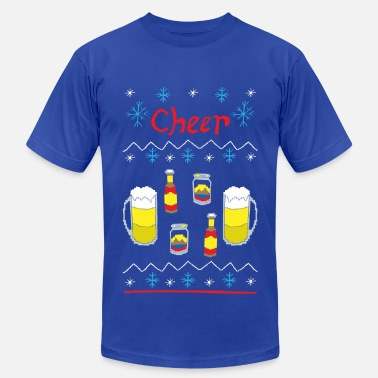 Beer Ugly Ugly Sweater - Beer - Men's  Jersey T-Shirt