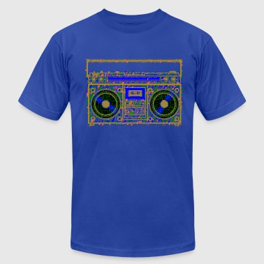 Boom Box Music - Men's Fine Jersey T-Shirt