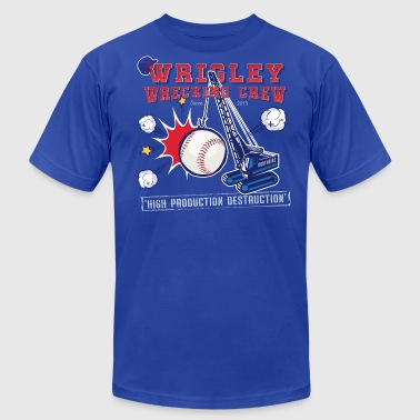 Wrigley Wrecking Crew - Men's Fine Jersey T-Shirt