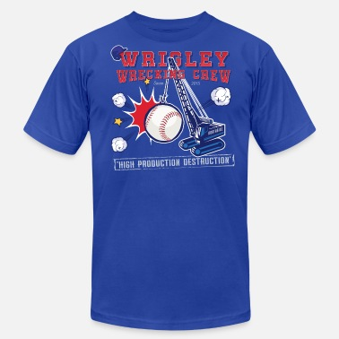 The Wrecking Crew Wrigley Wrecking Crew - Men's  Jersey T-Shirt