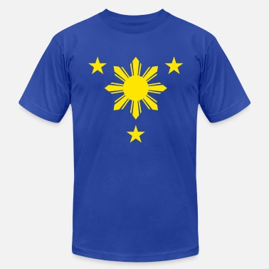 3 Stars And A Sun sunandstars2 - Men's Jersey T-Shirt