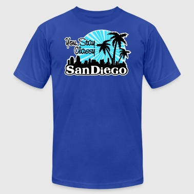 You Stay Classy San Diego - Men's Fine Jersey T-Shirt
