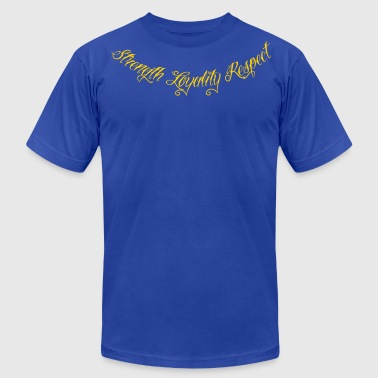 Respect Me Strength Loyality Respect 1 - Men's Fine Jersey T-Shirt