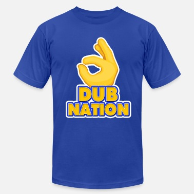 Dub Nation Dub Nation   - Men's Jersey T-Shirt