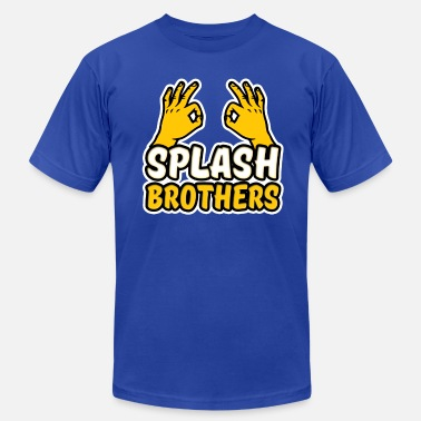 Splash Brothers Splash Brothers funny - Men's Jersey T-Shirt