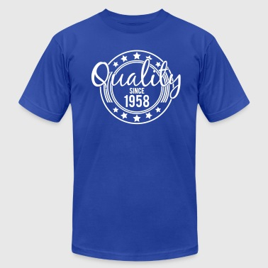 Birthday - Quality since 1958 - Men's Fine Jersey T-Shirt