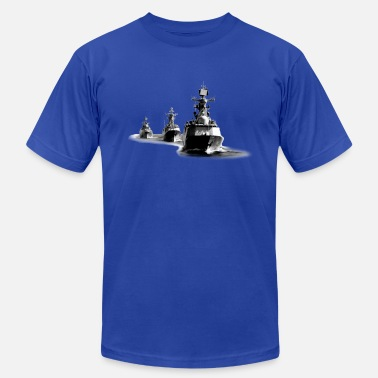 Destroyer Navy Destroyer Ship Group - Men's  Jersey T-Shirt