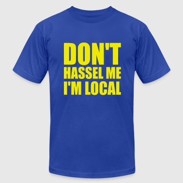 What About Bob Hassel - Men's Fine Jersey T-Shirt