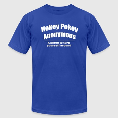 Hokey Pokey Anonymous Hokey Pokey Anonymous - Men's Fine Jersey T-Shirt