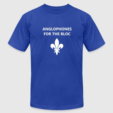 Anglophones for the Bloc - Men's Fine Jersey T-Shirt