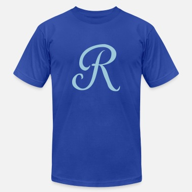 Letter Royal R - Letter - Men's  Jersey T-Shirt
