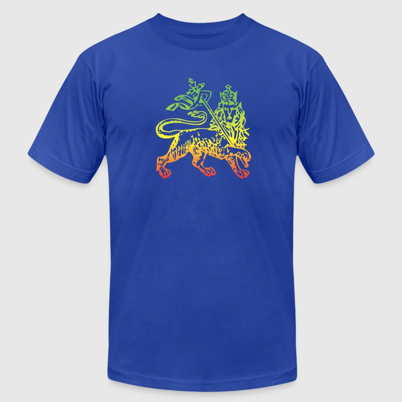 Ethiopian Lion of Judah - Men's Fine Jersey T-Shirt