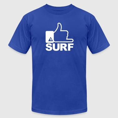 Surf surfing - Men's Fine Jersey T-Shirt