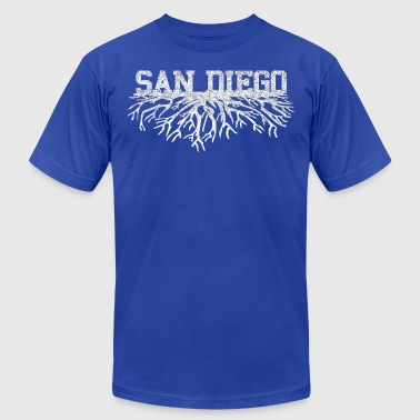 San Diego Roots - Men's Fine Jersey T-Shirt