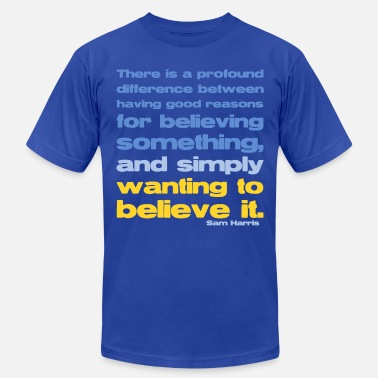 Sam Sam Harris - Good Reasons For Believing - Men's  Jersey T-Shirt